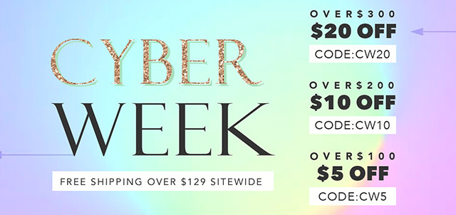 $5 OFF over $100
